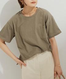 Auntie Rosa Holiday(アンティローザホリデー)の【Holiday】ヘヴィーウェイトポケットTシャツ(Tシャツ/カットソー)