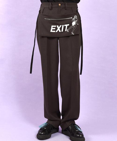 格安 【セール】EXIT タックパンツ(パンツ)|MILKBOY(ミルクボーイ)のファッション通販, アトリエ SAWA:d0722180 --- pitomnik-zr.ru