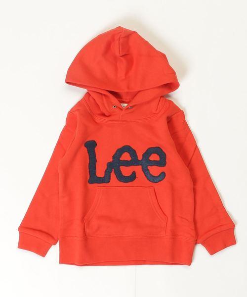 【Lee】ロゴフードパーカー