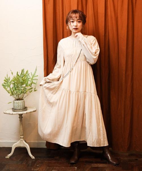 gathers dress
