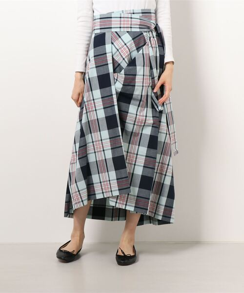 SUMMER CHECK スカート