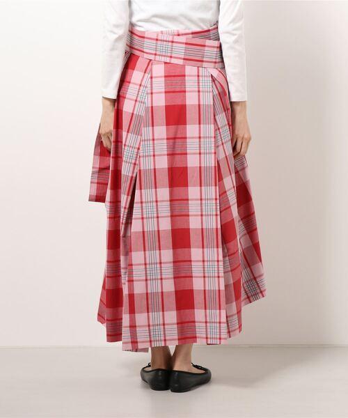 Vivienne Westwood(ヴィヴィアンウエストウッド)の「SUMMER CHECK スカート(スカート)」 詳細画像