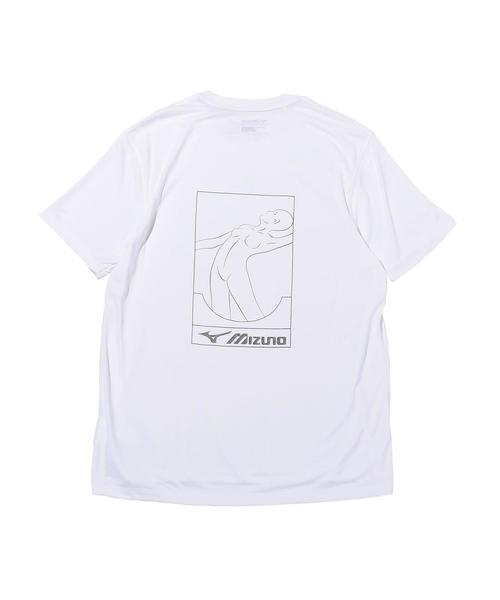 <FUTUR × MIZUNO> B LOGO TEE/Tシャツ