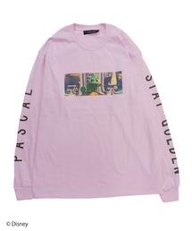 【Disney/ディズニー/塔の上のラプンツェル】ロングTシャツピンク