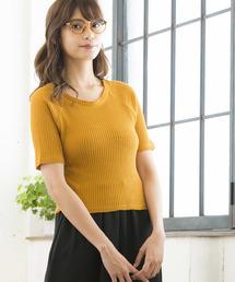 WEGO(ウィゴー)のWEGO/スクエアワッフルTシャツ(Tシャツ/カットソー)