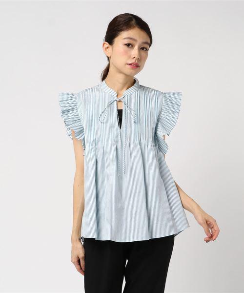 RHIE リエ / DARCI PLISE SHIRT シャツ