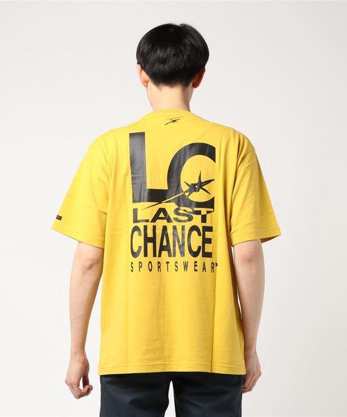 【 LAST CHANCE / ラストチャンス 】LC BACK PRINT S/S PKT TEE
