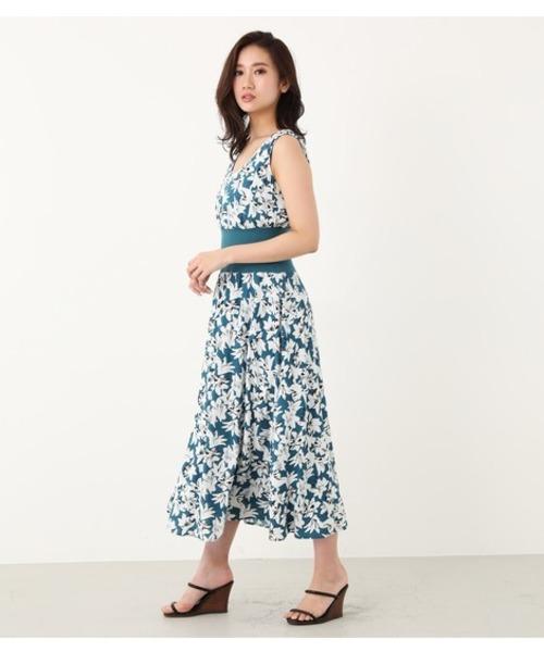 f5d80c58089134 Chic flowerロングOP(ワンピース)|rienda(リエンダ)のファッション ...