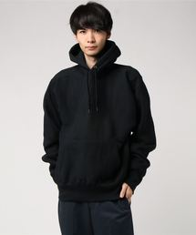 CAMBER(キャンバー)の【CAMBER】UNISEX CROSS KNIT PULLOVER HOODED PARKA <MADE IN U.S.A.> クロスニット プルオーバーパーカ(パーカー)