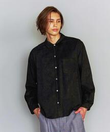 BY スエードタッチ レギュラーカラー シャツ