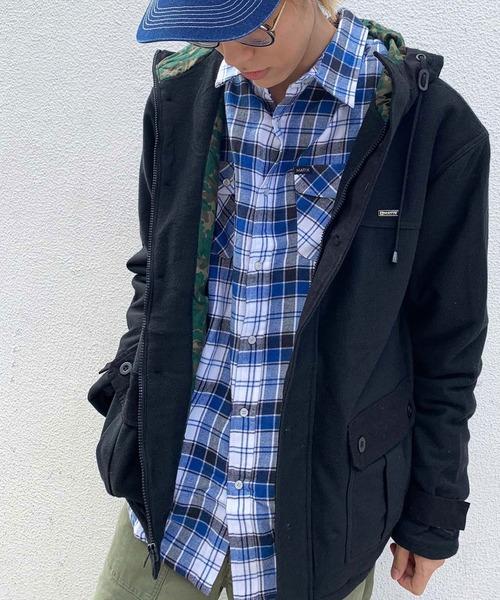MATIX(マティックス)の「MATIX Hooded Jacket/マティックス フード付き ジャケット(ブルゾン)」|ブラック