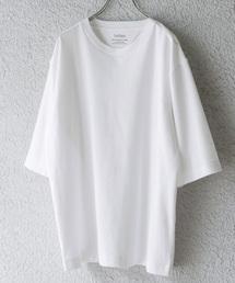 URBAN RESEARCH DOORS(アーバンリサーチドアーズ)のポンチ6分袖Tシャツ(Tシャツ/カットソー)