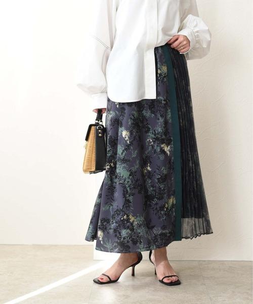ボタニカルフラワーPT MIXスカート