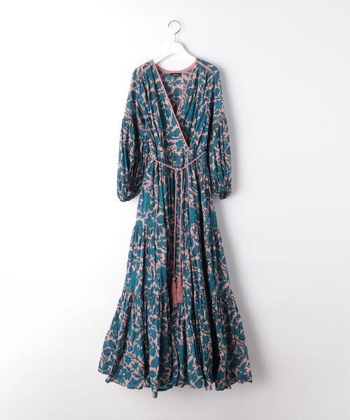 Velnica(ヴェルニカ) タッセル ティアード ドレス【EMMEL REFINES】