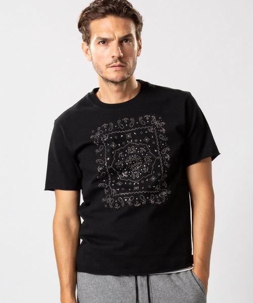 お歳暮 【セール studs】paisley studs cut&sewn(Tシャツ/カットソー)|wjk(ダヴルジェイケイ)のファッション通販, ミナミダイトウソン:e78055f3 --- 888tattoo.eu.org