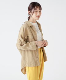 Omekashi(オメカシ)のミリタリーシャツジャケット(シャツ/ブラウス)