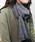 minia(ミニア)の「薄手カラーストール [minia](ストール/スヌード)」|チャコールグレー