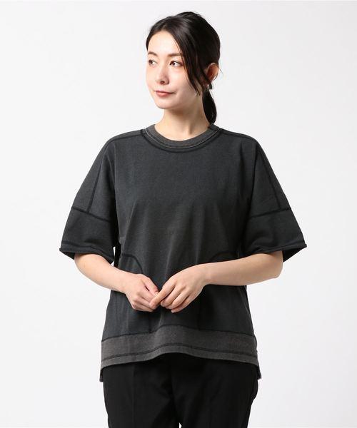 【white Mountaineering】ビッグスリークオーターTシャツ WL1873102