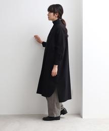 yuni(ユニ )のモールスキン ドルマンシャツワンピース(ワンピース)