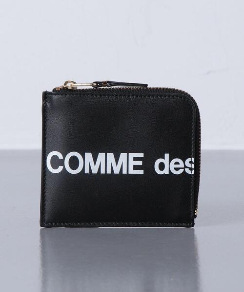 <COMME des GARCONS POCKET (コムデギャルソン ポケット) >  LOGO LZIP■■■