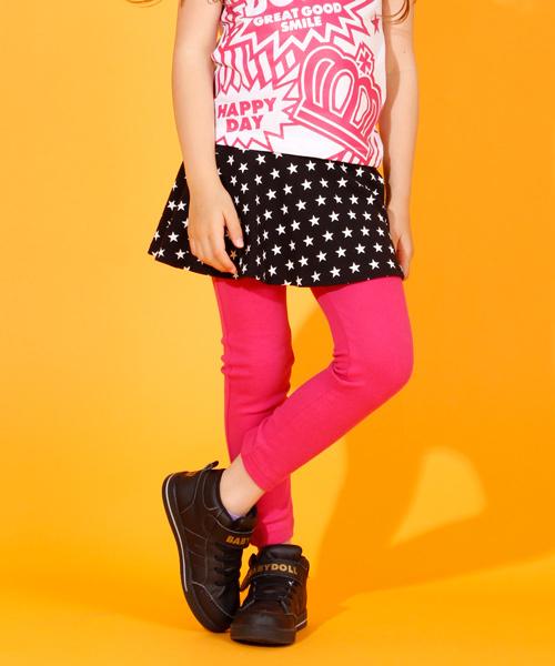 BABYDOLL(ベビードール)の「スカッツ/スカート付き♪ウルトラストレッチパンツ/レギンス付きスカート6422K(スカート)」 ピンク系その他2