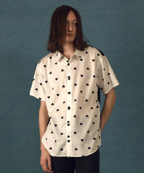【MILKBOY】HEART PRINT シャツ