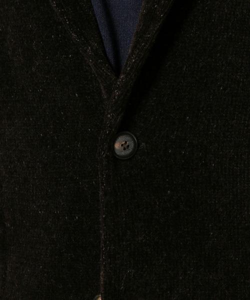 LARDINI / ラルディーニ ストレッチモールショールニットジャケット