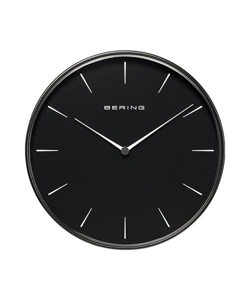 BERING(ベーリング)の「BERING / ベーリング          Clock 90292(掛け時計)」 ブラック