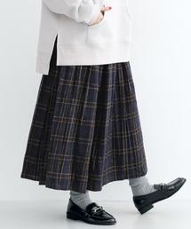 merlot(メルロー)のチェックタックスカート1955(スカート)