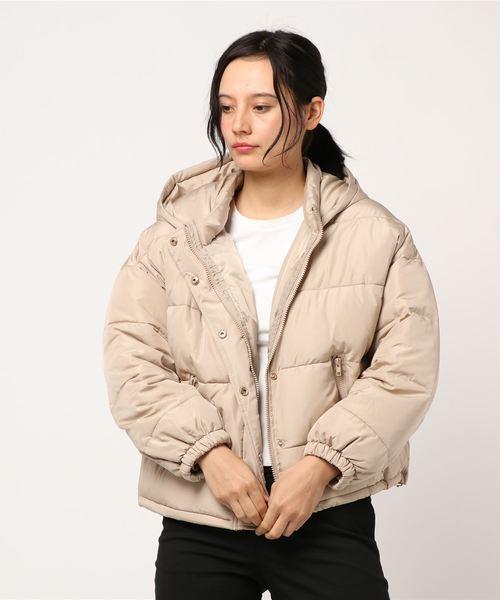 フード付 中綿ジャケット