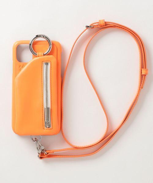 ajew / エジュー/【ひも付き】ネオン iPhone Case 11(XR共通対応サイズ)