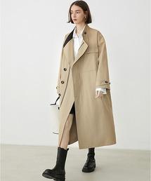 【Fano Studios】【2021SS】Oversized zip Trench coat cb-3 FQ20W059ベージュ