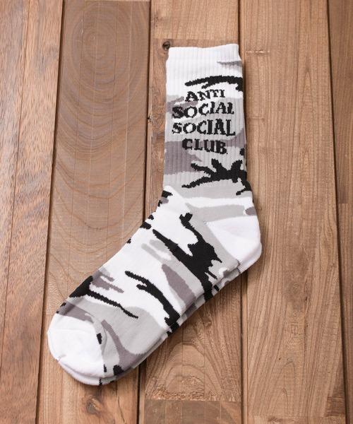 【8】【Anti Social Social Club】DESIGN SOCKS