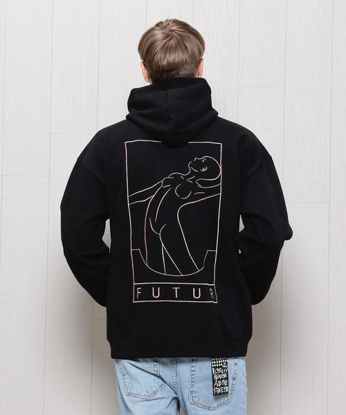 <FUTUR>OUTLINE HOODED PARKA/パーカー