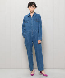 <H>DUNGAREE ALL IN ONE/オールインワン