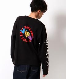 Mark Gonzales(マーク・ゴンザレス)の【別注】マークゴンザレス袖プリントロンT(Tシャツ/カットソー)