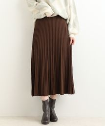 MAJESTIC LEGON(マジェスティックレゴン)のプリーツライクニットスカート(スカート)