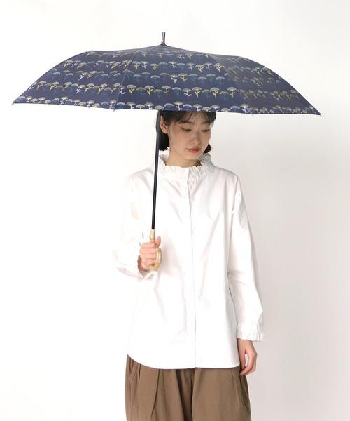 晴雨兼用傘 C/C 3COL フラワープリントショートワイド 27388