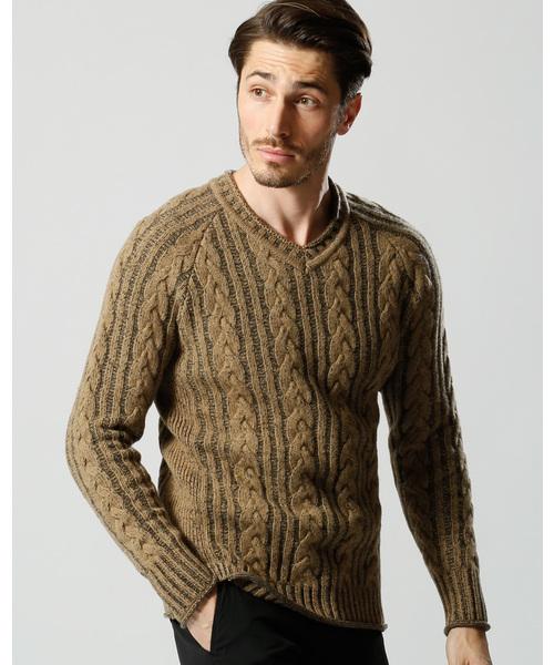 新しい到着 plating cable knit V cable/N(ニット knit/セーター)|wjk(ダヴルジェイケイ)のファッション通販, 横濱ゼームス商会-:fa6ff14e --- crypto2020.com