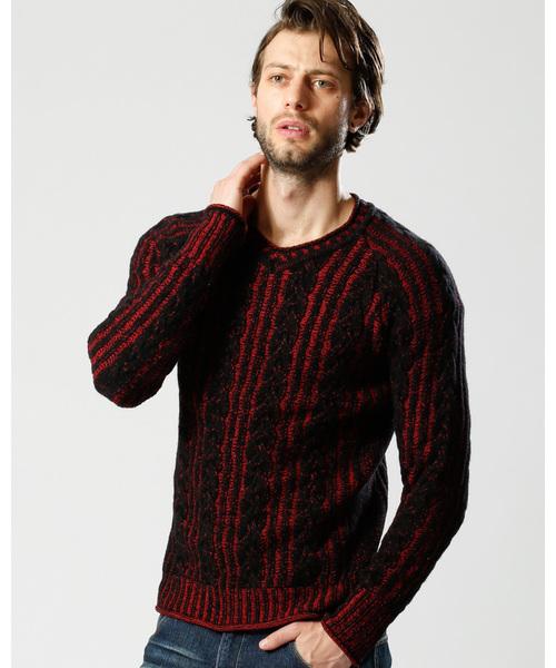 [定休日以外毎日出荷中] plating cable cable knit V/N(ニット knit/セーター)|wjk(ダヴルジェイケイ)のファッション通販, sellishop:c5e5e19a --- 5613dcaibao.eu.org