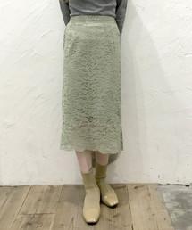 archives e'pice(アルシーヴ エピス)の【限定item!!】フラワーレースタイトスカート(スカート)