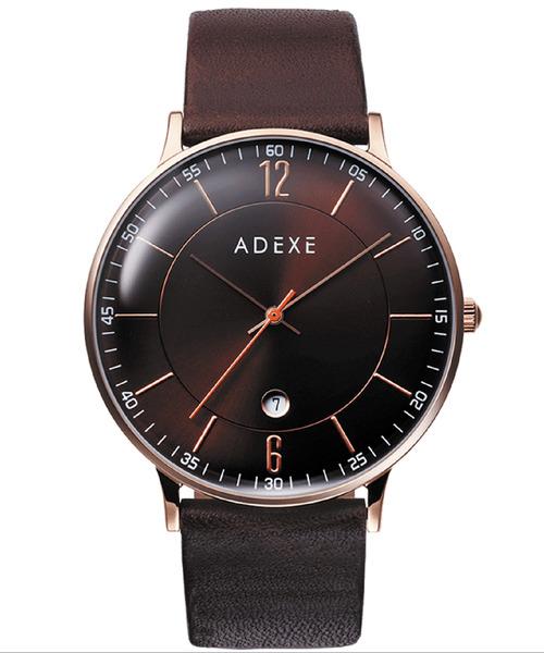 【ADEXE/アデクス】7series 三針・カレンダー 2046B BDP