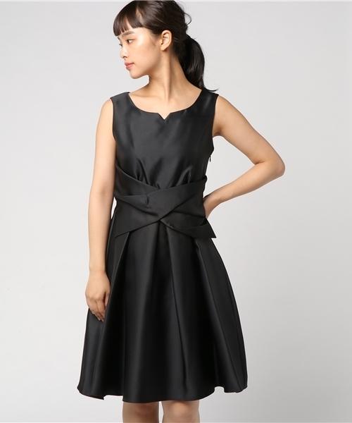 高価値 【セール】バックレース切り替えウエストクロスリボンモチーフフレアーワンピース(ドレス) Doll/|Dorry Luxe Doll(ドリードール)のファッション通販, 大阪のきものやさんだるまや:0d2ee485 --- skoda-tmn.ru