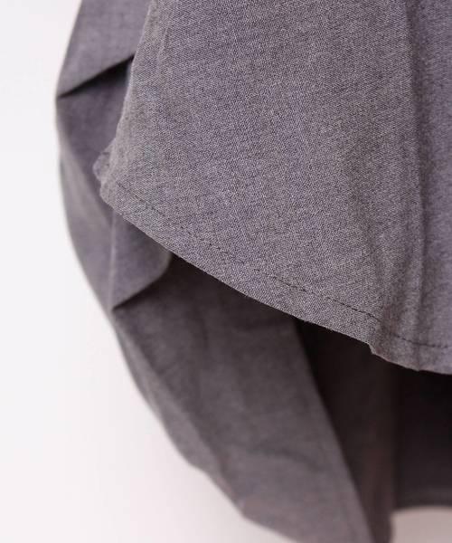 バイカラーの異素材がカッコいいタートルネックのドルマンシャツ