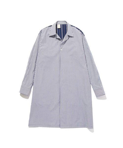 FALL2019 ONE BUTTON LONG SHIRT