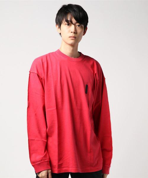 【送料無料】 FULL-BK/ OTHER STITCHING DYED フルビーケー:PIGMENT DYED STITCHING L/S TEE:FBK-17AW-CTS-015[WAX](Tシャツ/カットソー)|FULL-BK(フルビーケー)のファッション通販, 頓原町:b551f182 --- dpu.kalbarprov.go.id