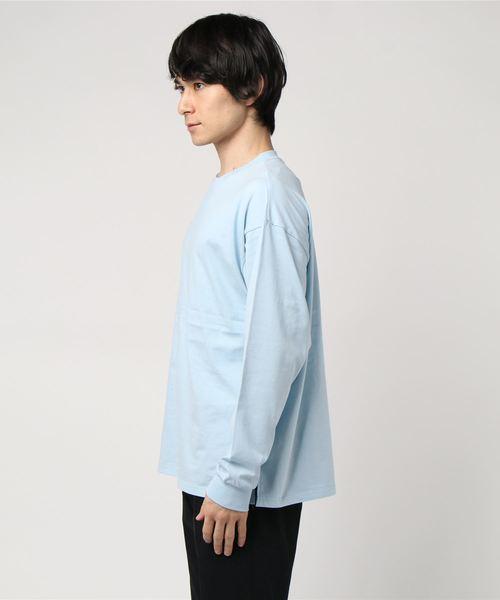 ビッグシルエットロンT長袖Tシャツカットソー