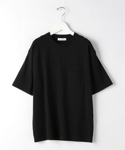 SC コンフィヤーン シーム クルーネック 半袖 カットソー Tシャツ