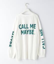 <EMMEL REFINES(エメル リファインズ)>EM CALL ME MAYBY ロンT −ウォッシャブル−