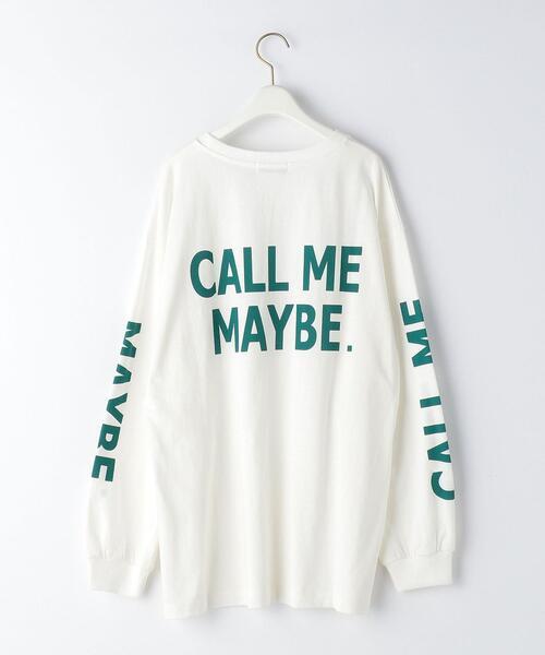 <EMMEL REFINES(エメル リファインズ)>EM CALL ME MAYBY ロンT